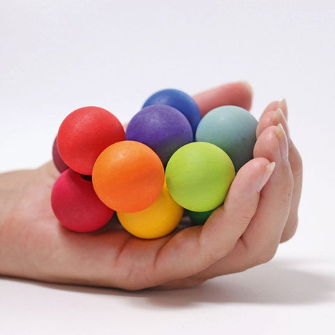 Grimm;s Rainbow beads grasping toy