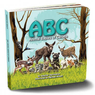 ABC Animal Babies of Canada Book