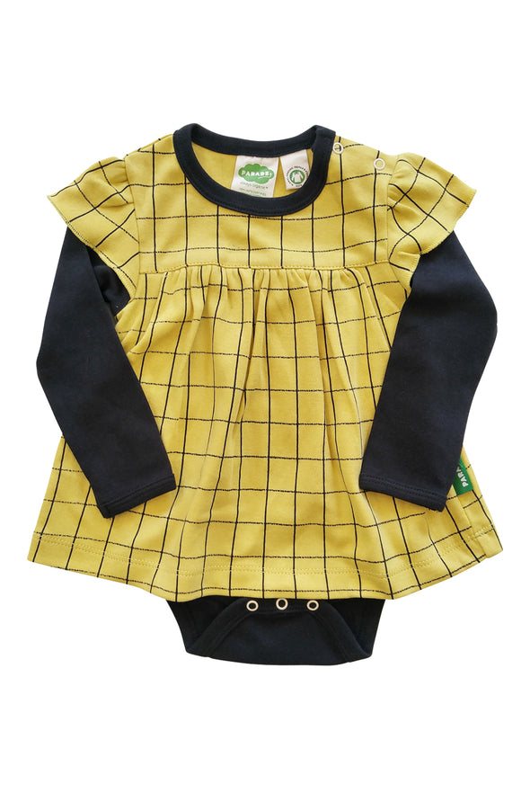 Onesie Dress - Long Sleeve - Organic Baby Clothes, Kids Clothes, & Gifts | Parade Organics
