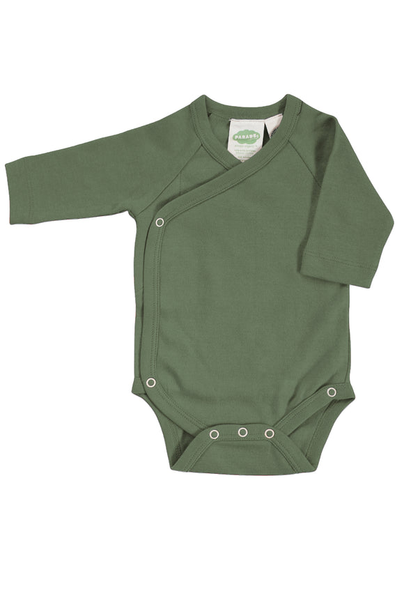 Kimono Bodysuit - Essentials - Organic Baby Clothes, Kids Clothes, & Gifts | Parade Organics