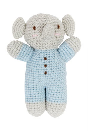 """My Animal Friends"" Knit Stuffie - Medium - Organic Baby Clothes, Kids Clothes, & Gifts 
