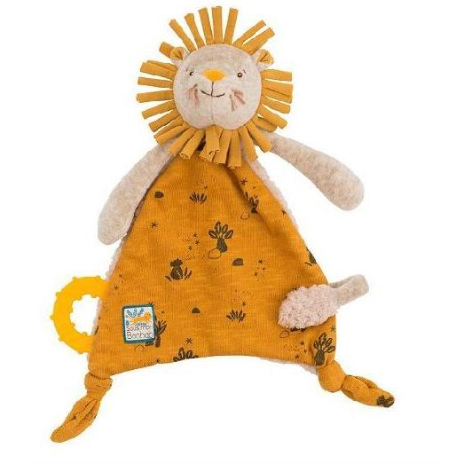 Moulin Roty Cuddle Toy with Pacifier Ring - Parade Organics