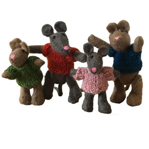 Papoose - Felted mouse family - Parade Organics