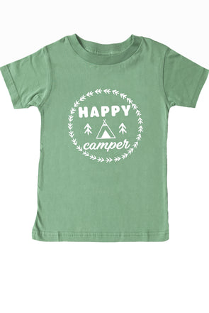 'Happy Camper' T-Shirts - Parade Organics