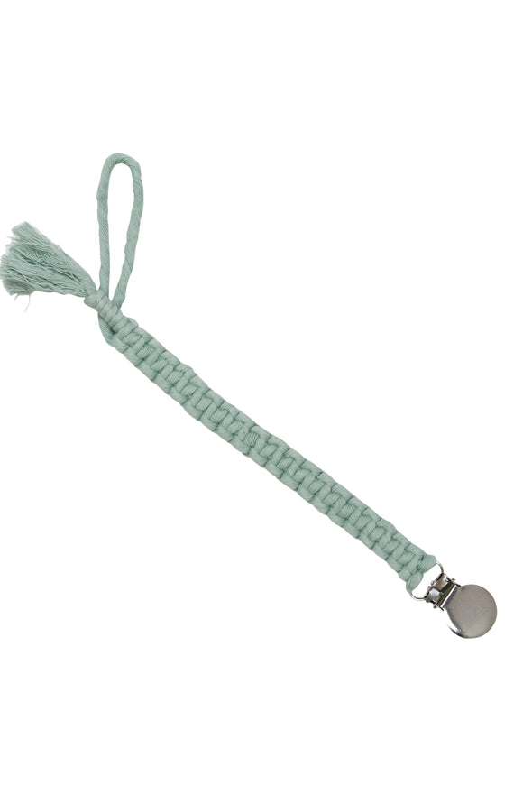 Macrame Pacificer Clips - Organic Baby Clothes, Kids Clothes, & Gifts | Parade Organics