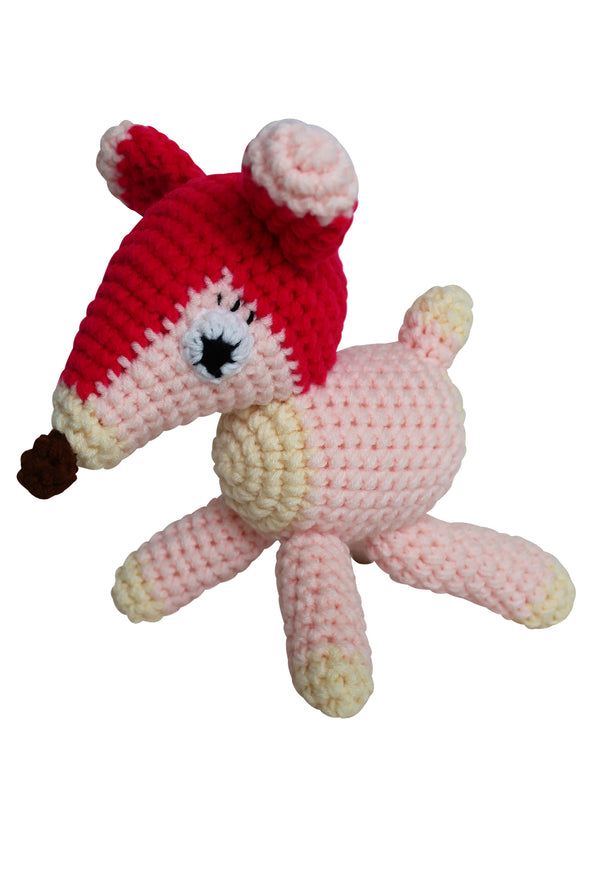 """My Animal Friends"" Knit Stuffie - Organic Baby Clothes, Kids Clothes, & Gifts 