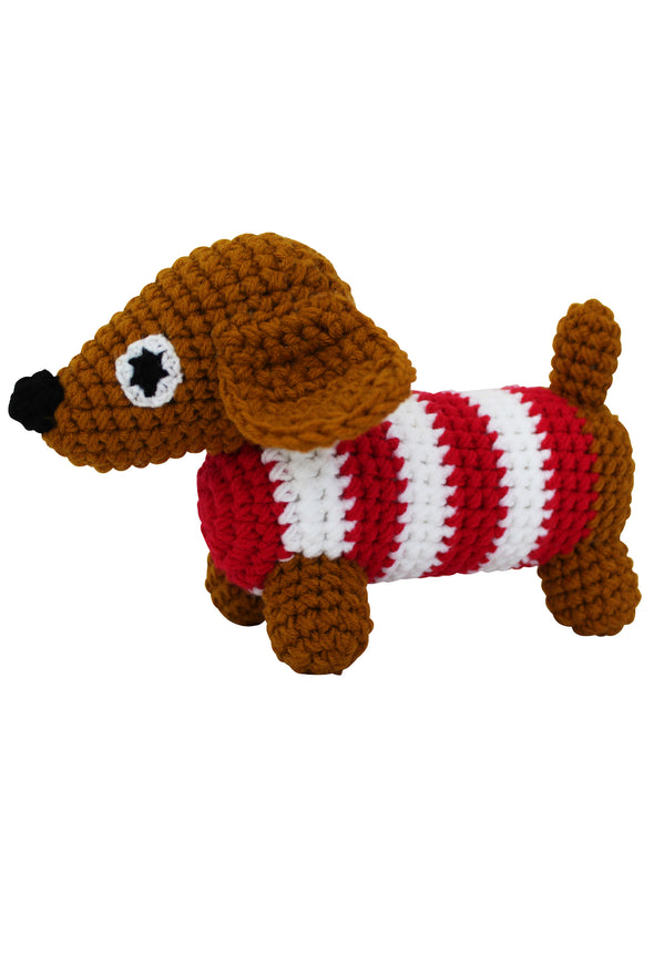 """My Animal Friends"" Knit Stuffie - Parade Organics"