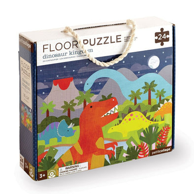 Petit Collage Floor Puzzle - Parade Organics