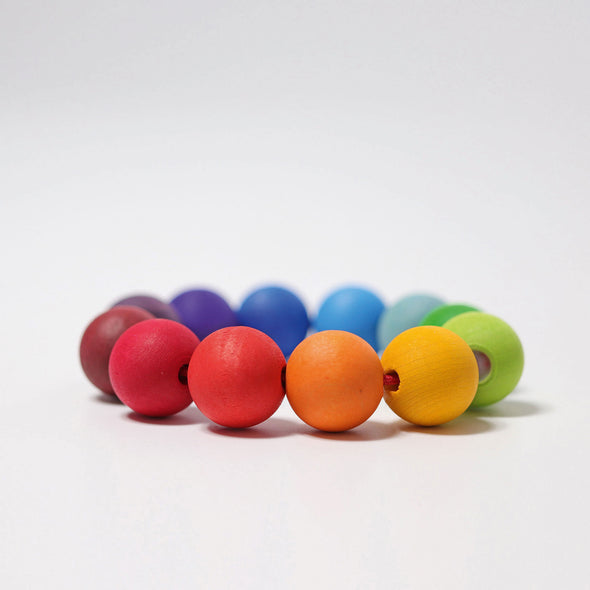 Grimm's Rainbow Bead Ring - Organic Baby Clothes, Kids Clothes, & Gifts | Parade Organics