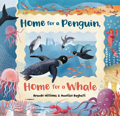 Home For A Penguin, Home For A Whale-Paper Back Book