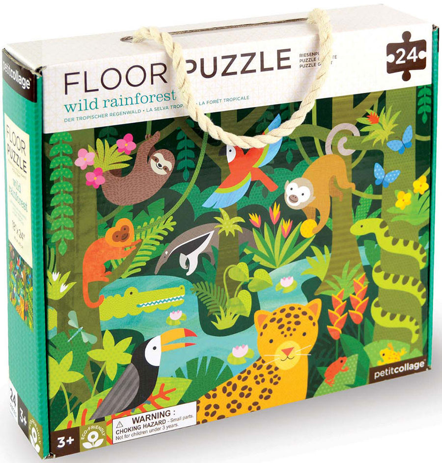 Petit Collage Floor Puzzle
