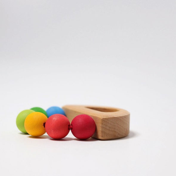 Grimm's Rainbow Boat Grasping Toy - Organic Baby Clothes, Kids Clothes, & Gifts | Parade Organics
