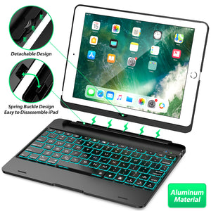 Detachable tablet keyboard case