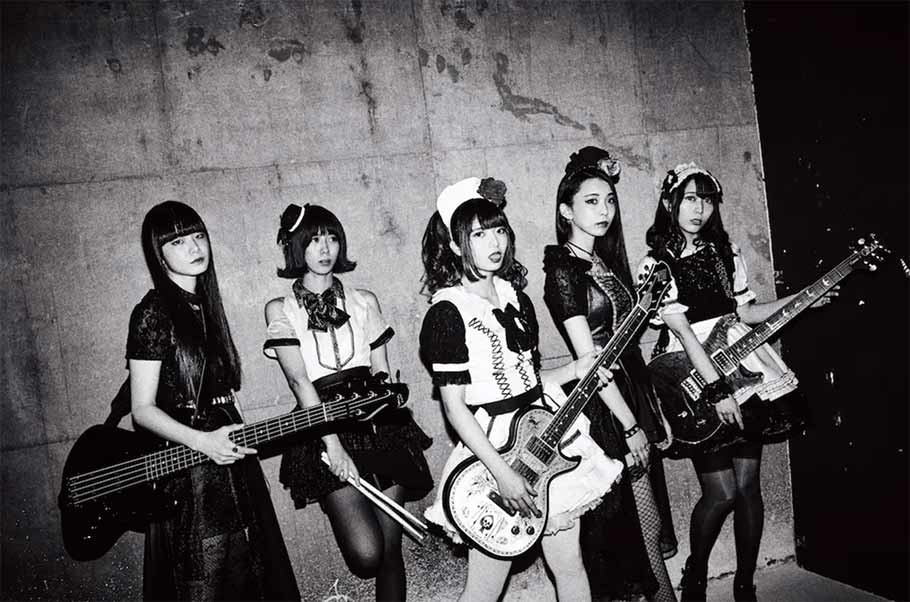 BAND-MAID Joins LIVE NATION for 2019 Tour