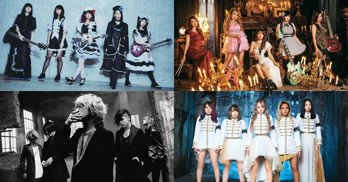 Japanese metal bands (BAND-MAID, LOVEBITES, Aldious and the GazettE)
