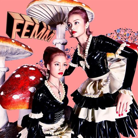 FEMM PoW! / L.C.S. EP cover art f**k boyz get money
