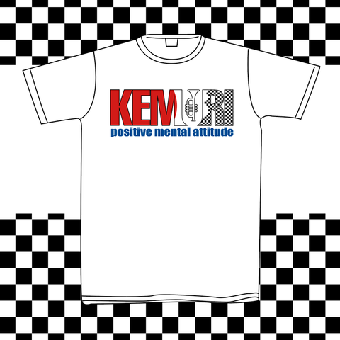KEMURI: POSITIVE MENTAL ATTITUDE Japanese Ska Punk T-shirt (White)
