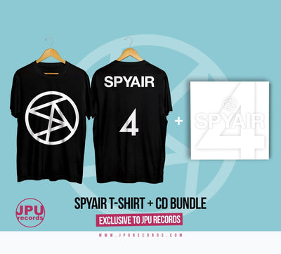 SPYAIR 4 t-shirt + CD