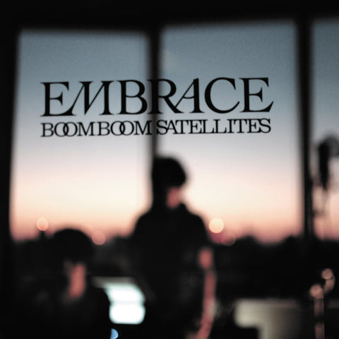 "Cover art: BOOM BOOM SATELLITES ""EMBRACE"" album"