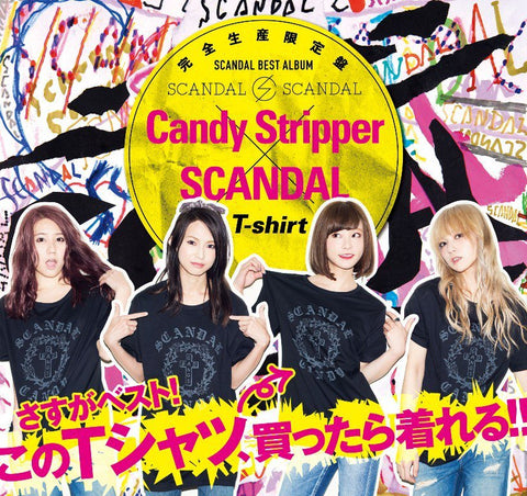 SCANDAL + T-shirt pic. Japanese girl band