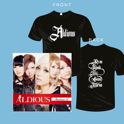 "Official Aldious ""Radiant A"" T-shirt pic"