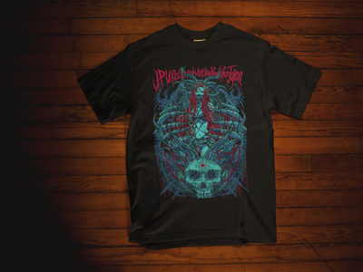JPU Records x ISANA KAGAMI – Metal Witch T-shirt