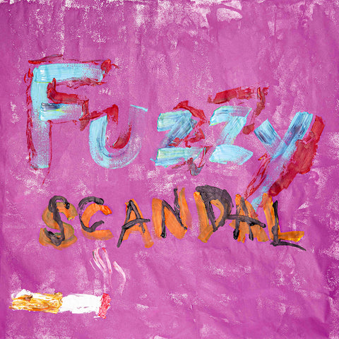 SCANDAL Fuzzy download single cover art. Japanese girl pop rock band