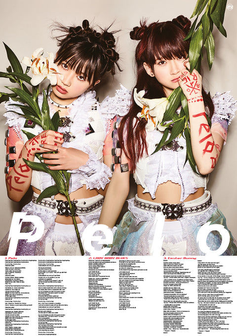 "The Idol Formerly Known As LADYBABY poster – ""Pelo"""