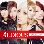 Aldious Radiant A album CD Japanese girl metal band JPU records