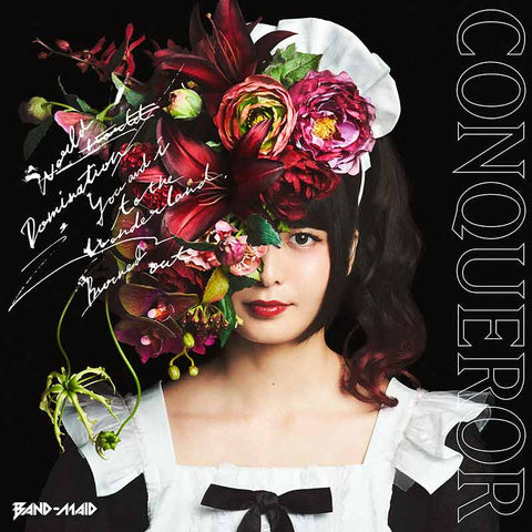 Band-Maid Conqueror album CD with English lyric translations JPU Records