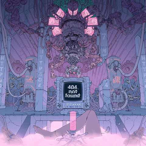 FEMM 404 Not Found EP cover art