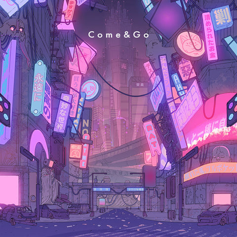 FEMM come and go single download and stream. Japanese cyberpunk