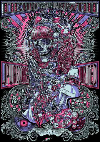 Isana Kagami (babymetal / band-maid) t-shirt print for JPU Records Dead Kawaii