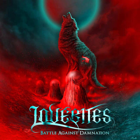 LOVEBITES Battle Against Damnation EP CD. Heavy Metal Japanese girl band JPU Records