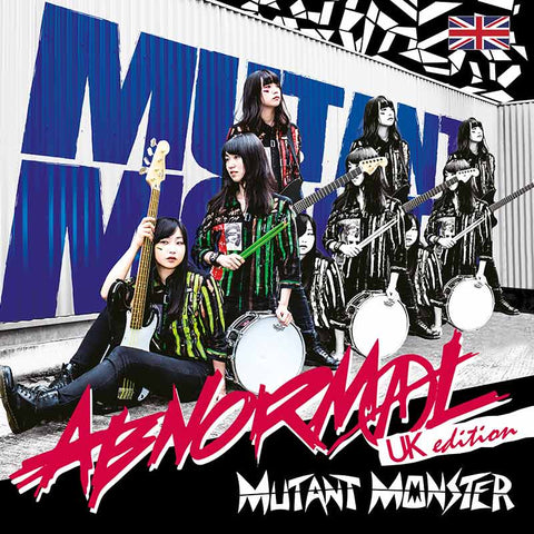 MUTANT MONSTER ABNORMAL UK edition album and download. Japanese girl punk band JPU Records