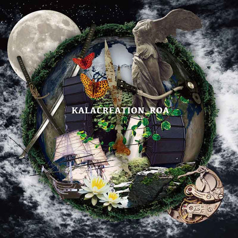 ROA KALACREATION download. Japanese punk rock shamisen band JPU Records