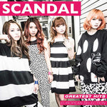 Scandal Greatest Hits CD European Selection // JPU Records