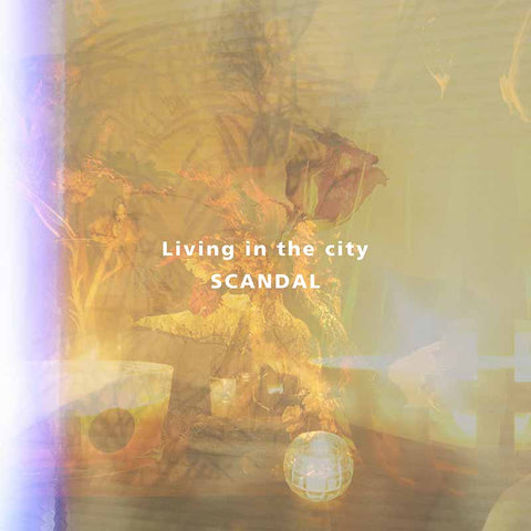 Scandal Living in the city single by Tomomi JPU Records