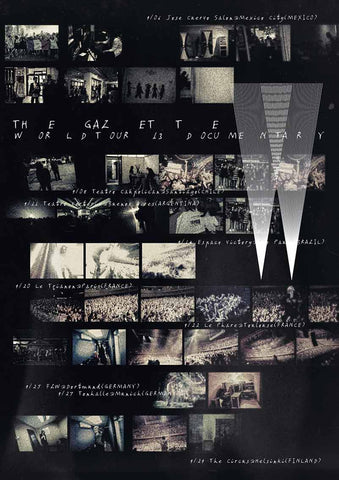 the Gazette world tour 2013 documentary English subtitles JPU Records