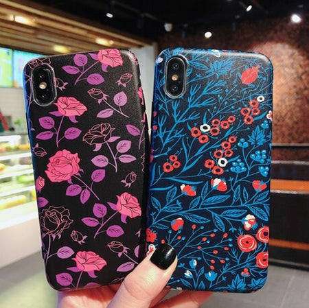 Cute Flower Pattern iPhone Case