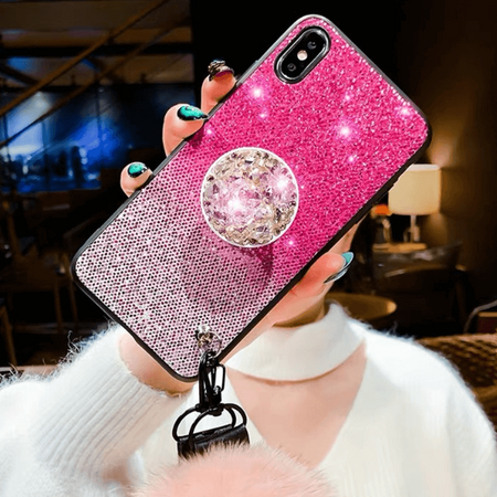Gradient Bling Glitter iPhone Case