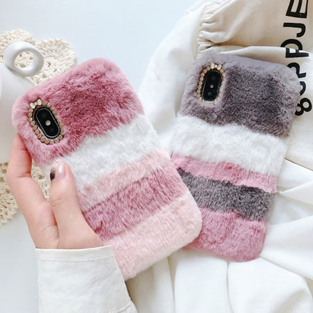Cute & Sweet Fluffy Fur iPhone Cases