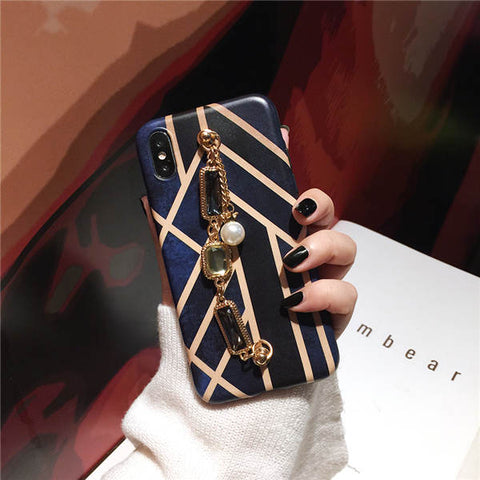 Classy Luxury Geometry Bracelet iPhone Case