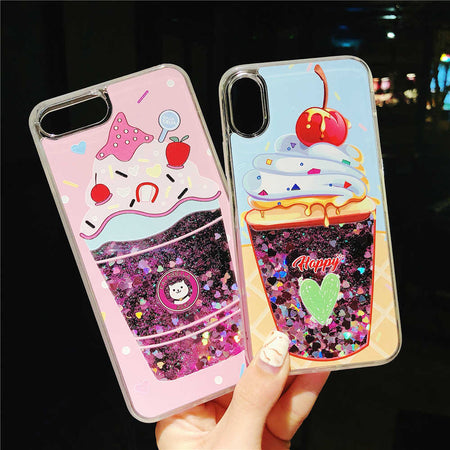 Ice Cream Quick Sand iPhone Case