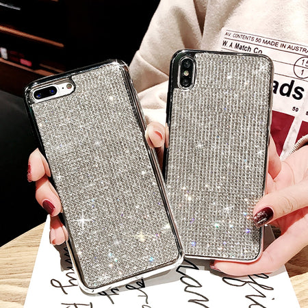 Luxury Bling Glitter Full Rhinestone Diamond iPhone Case