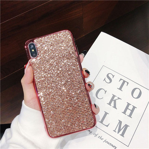 Sparkle Shiny Fish Scale Glitter Iphone Case