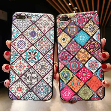 Luxury Summer Boho Style iPhone Cases