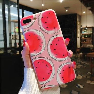 Cute Summer Watermelon iPhone Case