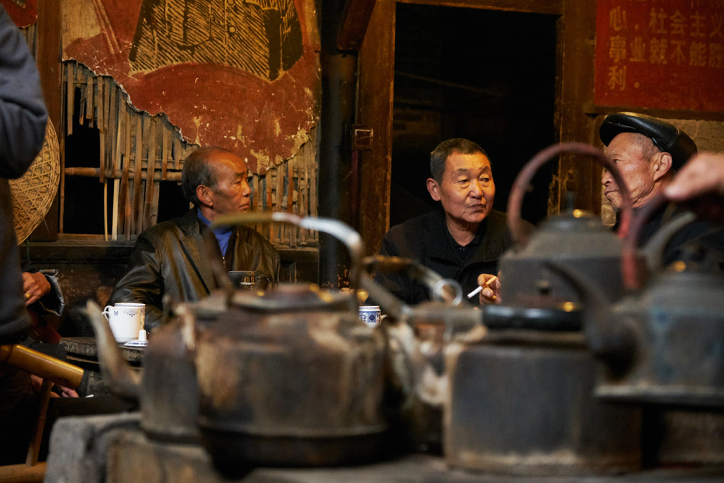 An Old Teahouse in Chengdu
