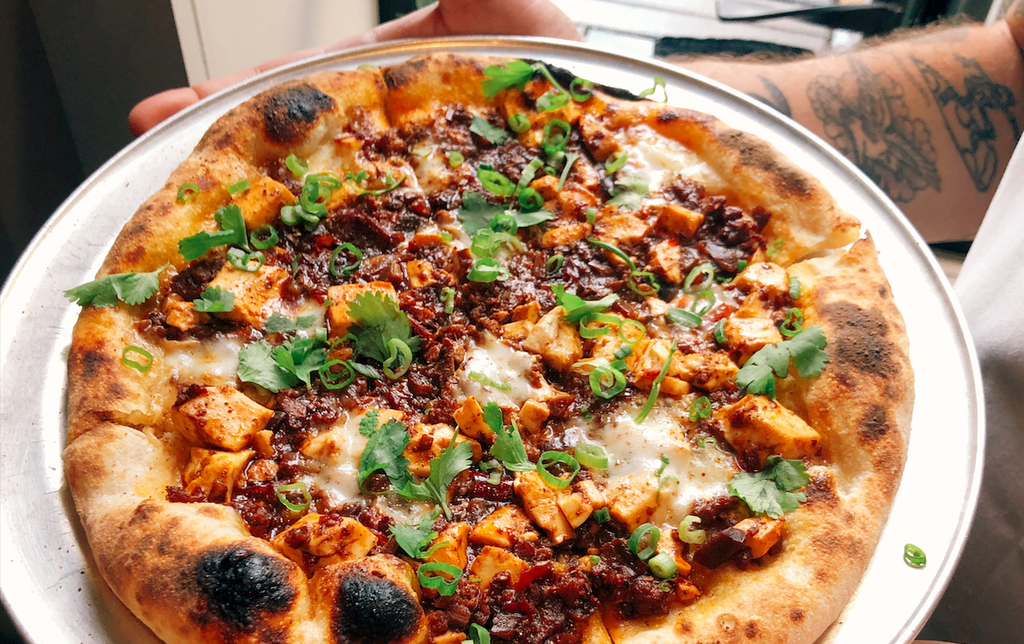 RECIPE: MAPO TOFU PIZZA